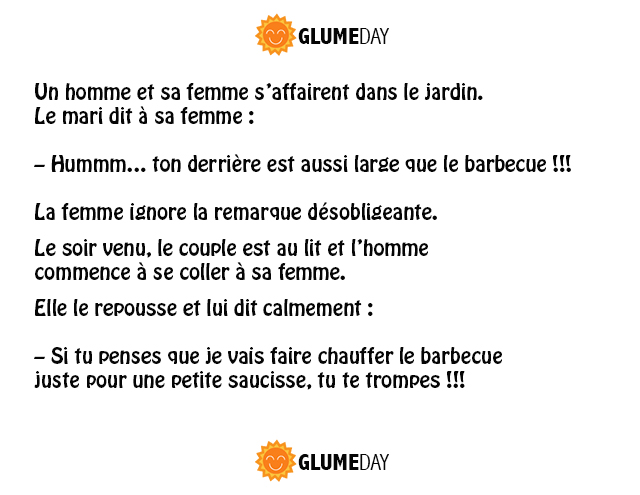 humour, drole, blague, sex, barbecue, saucisse,
